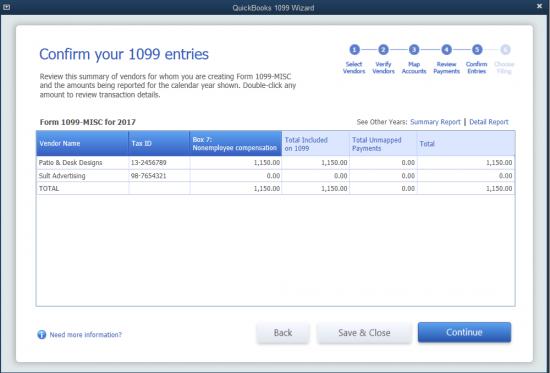 Using Quickbooks To Prepare Your Form 1099 Misc Enix Associates