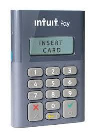 Intuit Pay chip card reader