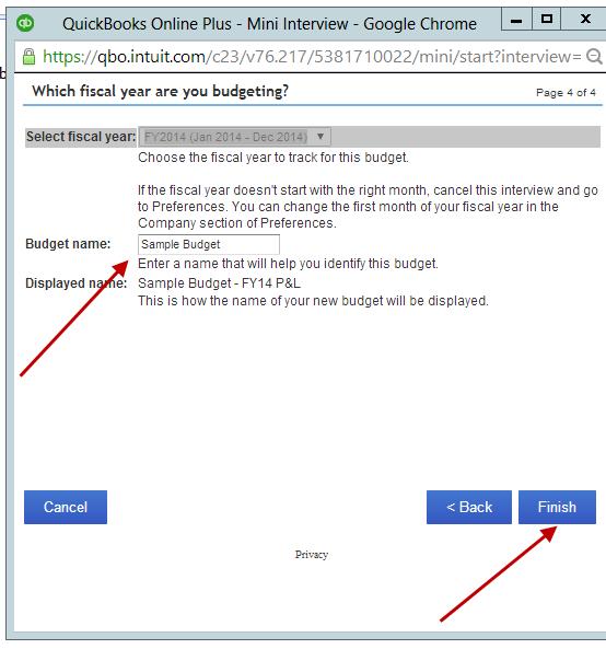 Create a Budget in QuickBooks Online   Enix & Associates