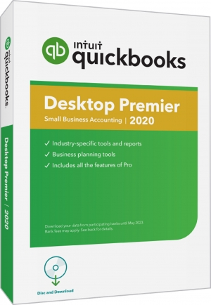 QuickBooks Premier 2020 - 4 User